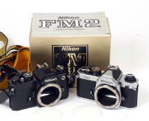 Nikon FM & FM2n Cameras.