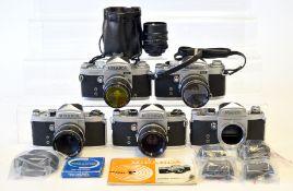 Quantiy of Miranda Cameras & Lenses.