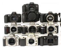 Ten Canon & Other Autofocus Film Camera Bodies.