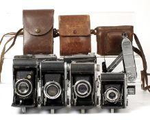 Ensign Selfix & Other Folding Cameras.