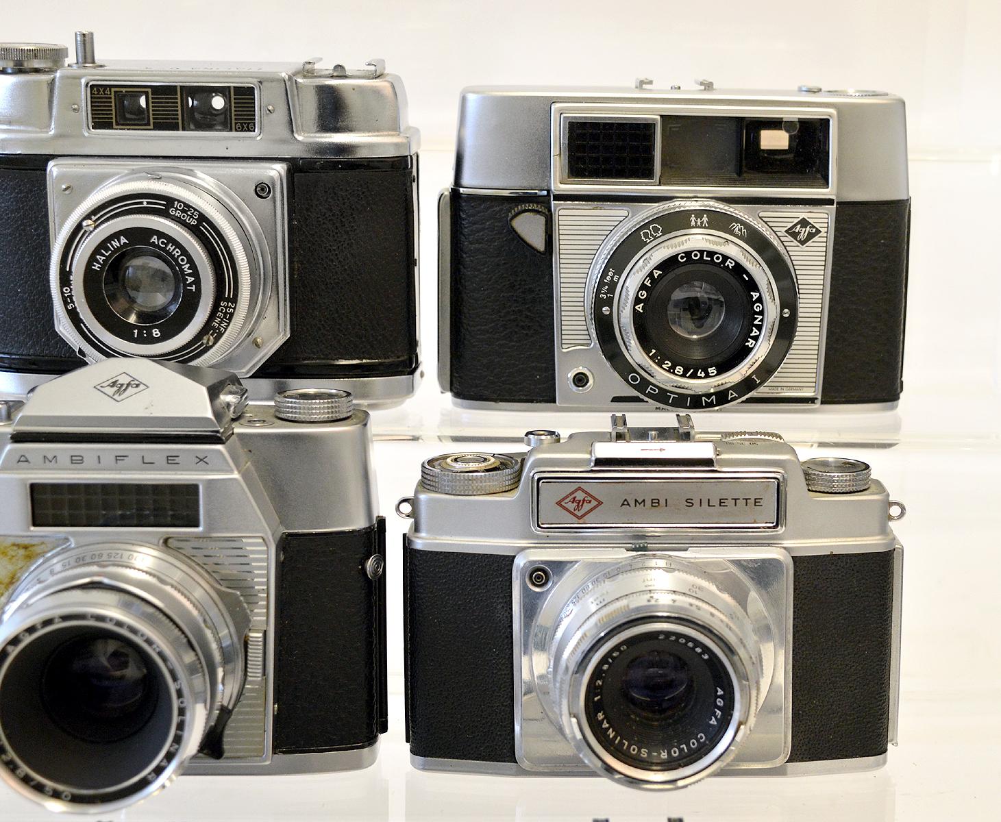 Lot 3 - Nine Various Agfa 35mm Cameras.