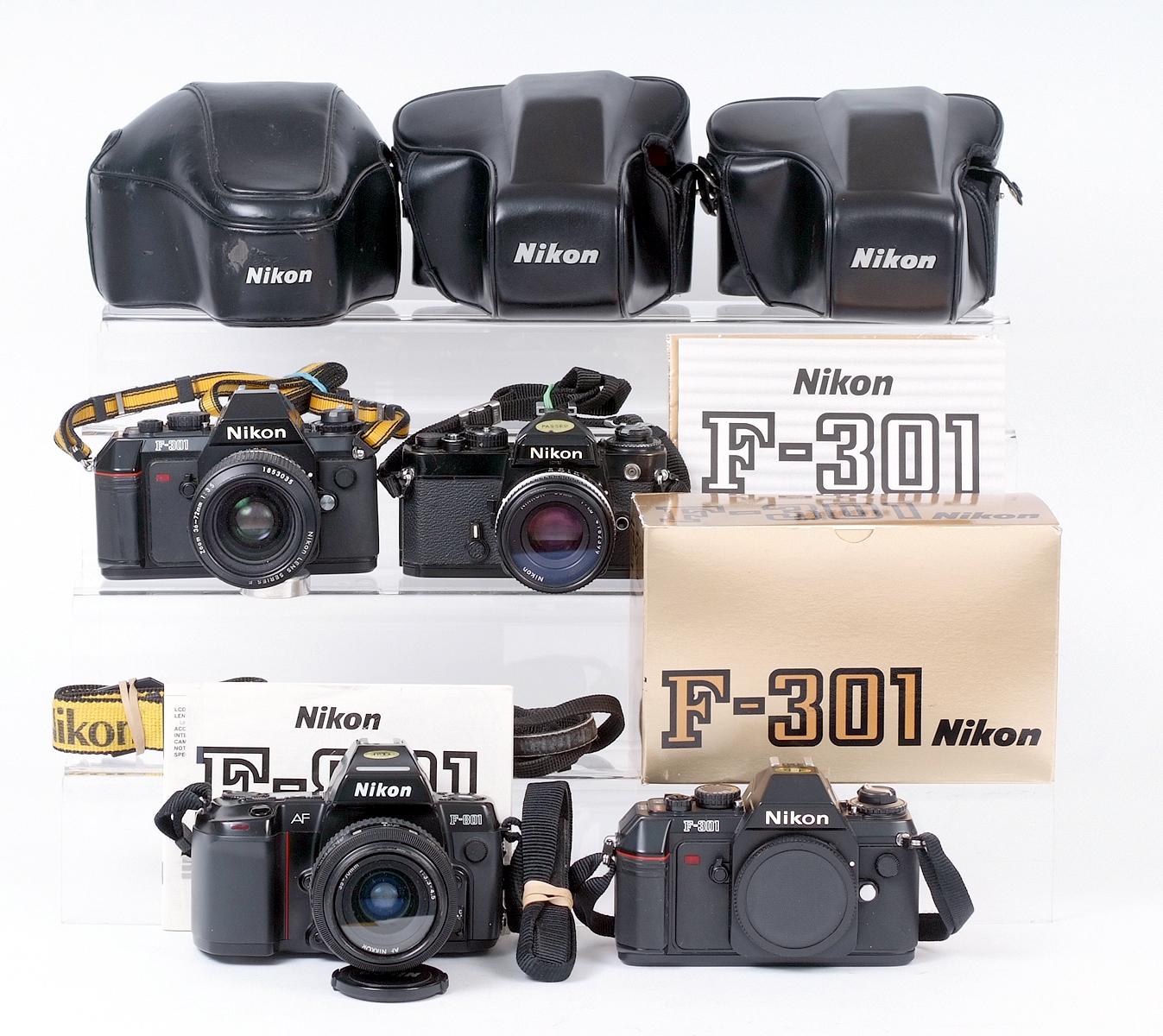 Lot 40 - Nikon Autofocus Film Cameras & Lenses etc.