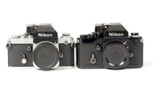 Pair of Nikon F2A Photomic Camera Bodies.