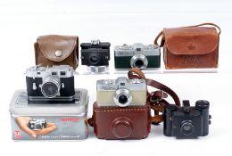 Black Merlin & Other Sub Miniature Cameras.