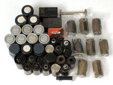Over 30 Reloadable 35mm film Cassettes.