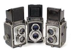 Mamiyaflex & Mamiya Junior TLR Cameras.