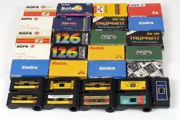 Over 25 Rolls of 126 Film.