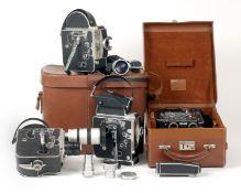 Bolex H16 Cine Camera & Others.