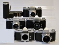 Collection of Praktica Cameras & Lenses.