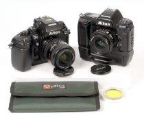 Nikon Autofocus Film Cameras & Lenses.