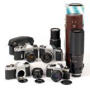 An Impressive CZJ 100-500mm PK Fit Lens, plus Others.