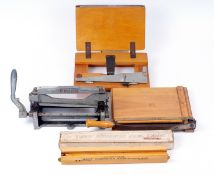An Unusual Priox Deckle-Edge Print Trimmer, Plus Others.
