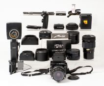 Extensive Bronica ETRS Medium Format Outfit.