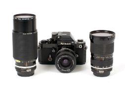 Nikon F2 Photomic & Lenses.