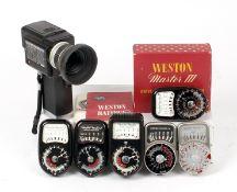 Minolta Auto-Spot II Spotmeter & Other Meters.