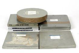 Six Large 9.5mm Feature Films, inc Sound Film.