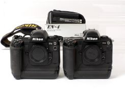 Nikon D1X & D1H DSLRs.