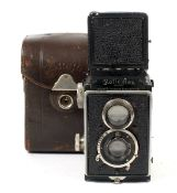 Original Rolleiflex Twin Lens Reflex Camera.