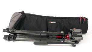 Manfrotto 745CX3 Carbon Fibre Tripod.
