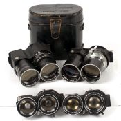Four Mamiya C Series lens for SPARES or REPAIRS.