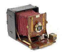 Sanderson 'Regular Model' Half Plate Camera.