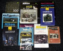 A Good Collection of Nikon Books.