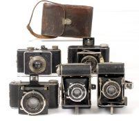 Five Small, Good Quality Folding Cameras.