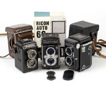 Yashica-Mat & Other Twin Lens Reflex Cameras.