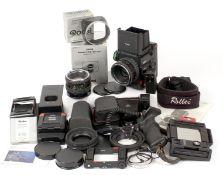 Extensive Rolleiflex 6003 Professional Medium Format Outfit.