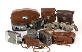 Quantity of 16mm & 8mm Cine Cameras.