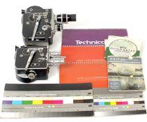 Two Bolex H16 Cine Cameras with Lesnes.