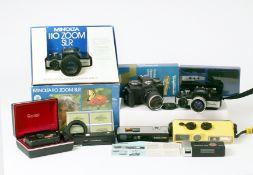 A Minolta MkI 110 SLR in Display Box & Others.