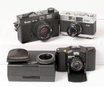 Rollei & Minox 35mm Compact Cameras.