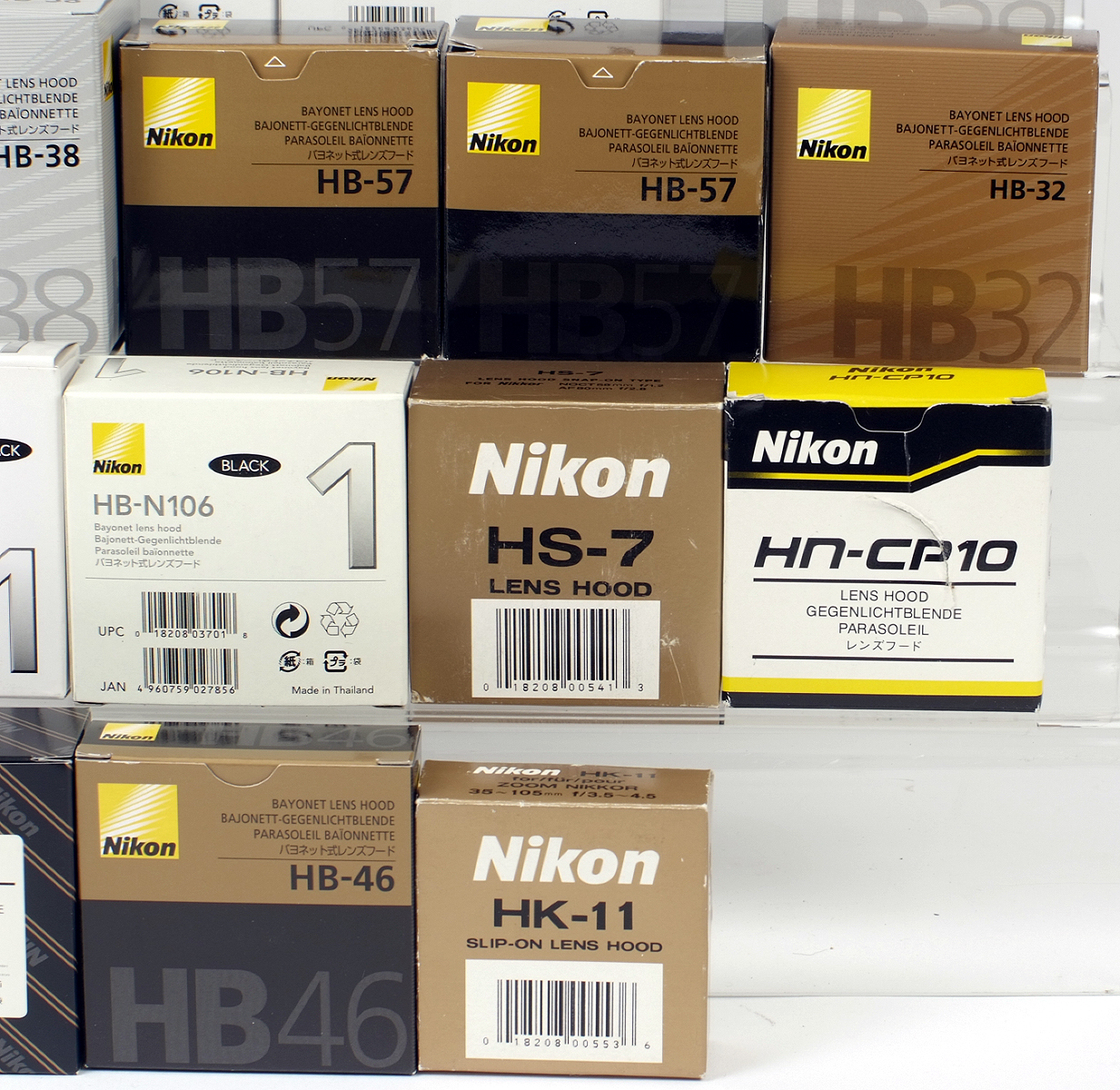 Lot 37 - Quantity of NEW Nikon Lens Hoods.