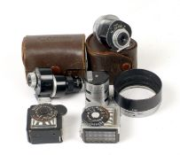 Group of Canon Rangefinder Accessories.