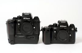 Nikon F4 Film Camera & Grip.