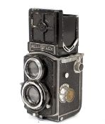 Early Black Rolleiflex 4x4 TLR.