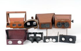 Collection of Folding & Other Stereo Viewers.