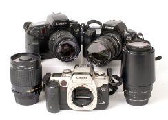 Canon EOS Collection inc Arsat Perspective Control Lens.