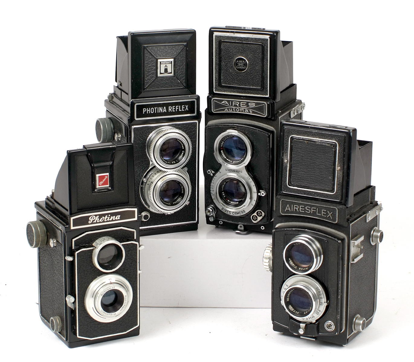 Lot 52 - Group of Four 120 TLR Cameras.