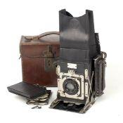 An Early Newman & Guardia Folding Reflex Camera #FR50.