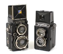 Voigtlander Superb & Brilliant TLRs.