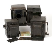 Group of LARGE Cameras for Spares or Repair.