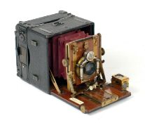 Sanderson Hand Camera with Focal Plane Back.