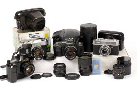Canon T90 Film SLR & Other Canon Items.