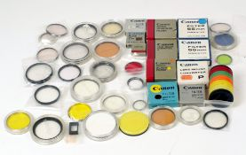 Good Quantity of Canon Filters & Accessories.