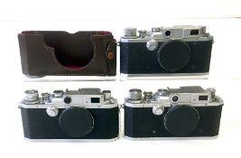Three Canon Rangefinder Cameras Bodies.