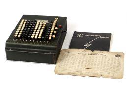 Rare Felt & Tarrant Sumlock Comptometer, Specalised Calculator Adding Machine.