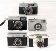 Uncommon Soviet & Other Half Frame Cameras.