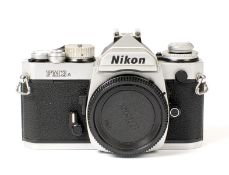 Chrome Nikon FM3A Camera Body.